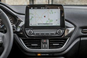 ecrã flutuante inspirado, exatamente, num tablet que responde a movimentos de toque e de deslize